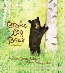 broke leg bear